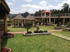 Yaya village, the gardens