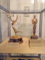 Oscar and Emmy statuettes