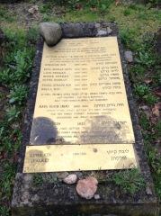 Family gravestone,