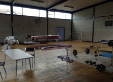 Weights and space in the gym