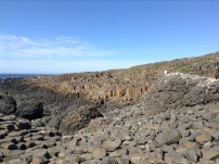 Rock formations at the Giant's Causeway