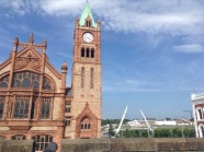 Guildhall and Peace Bridge
