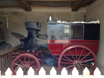 Exhibit, horse-drawn cart