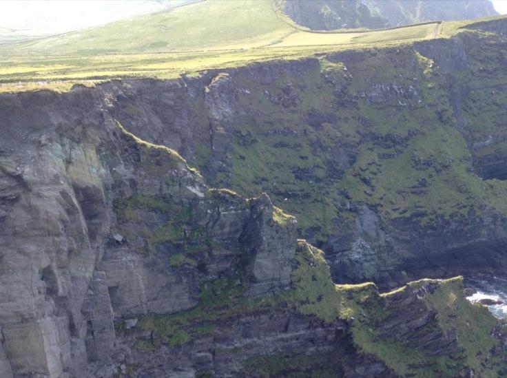 Rocky cliffs at Valentia Island