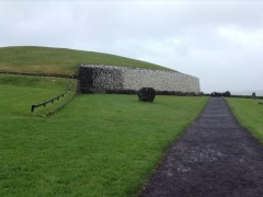 Grass on top of Newgrange Burial mound