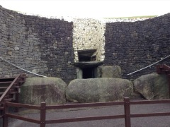 Entrance to a burial mound