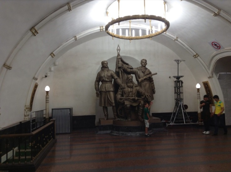 Statues on the Moscow Metro