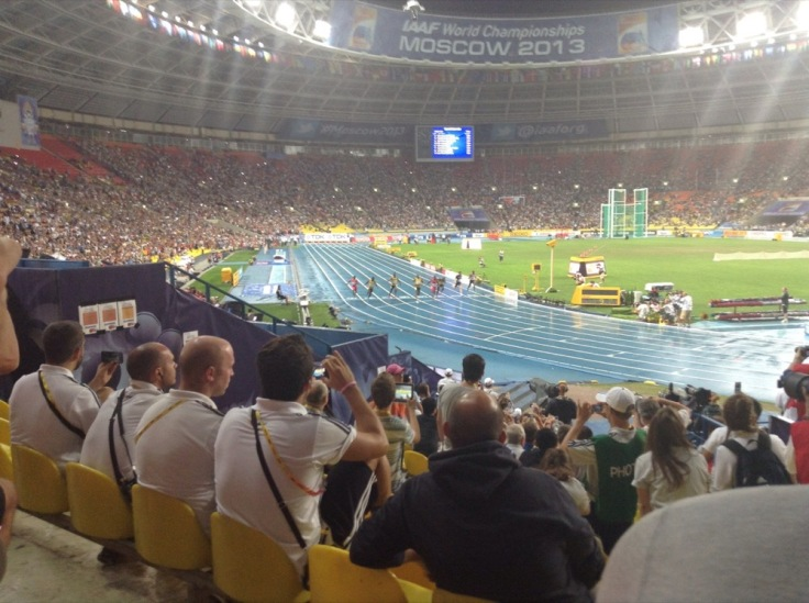 Bolt wins the 100m