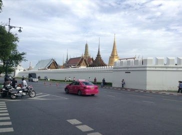 Gold Stupas in the Grand Palace
