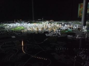 Model of the city