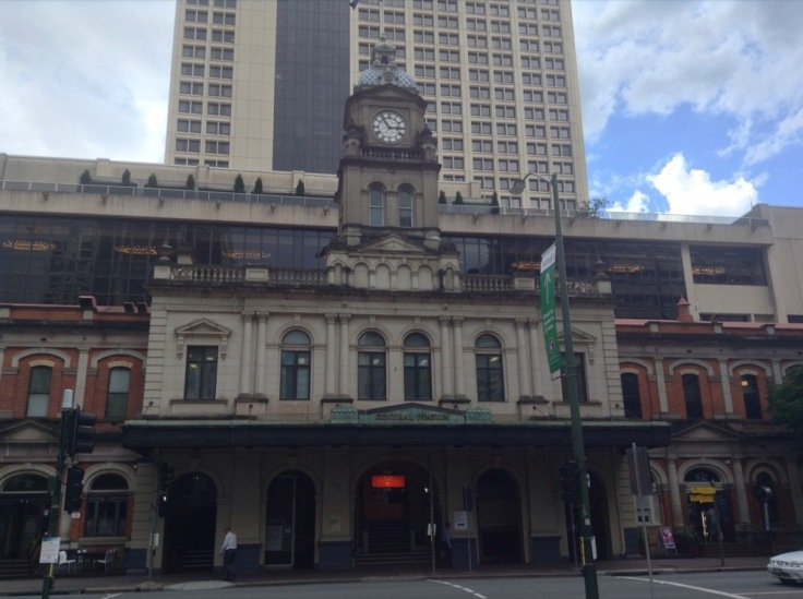 Central station building, Brisbane