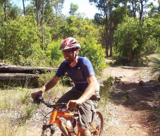 Me, on a mountain bike