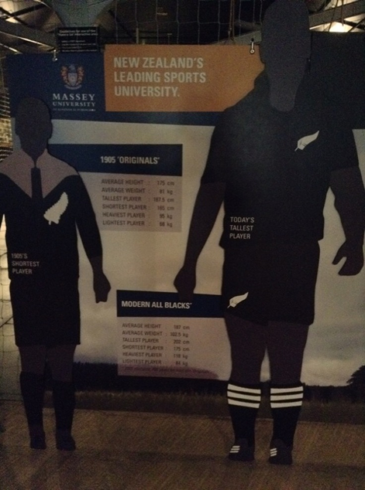 Comparison of old and new All Black kits.