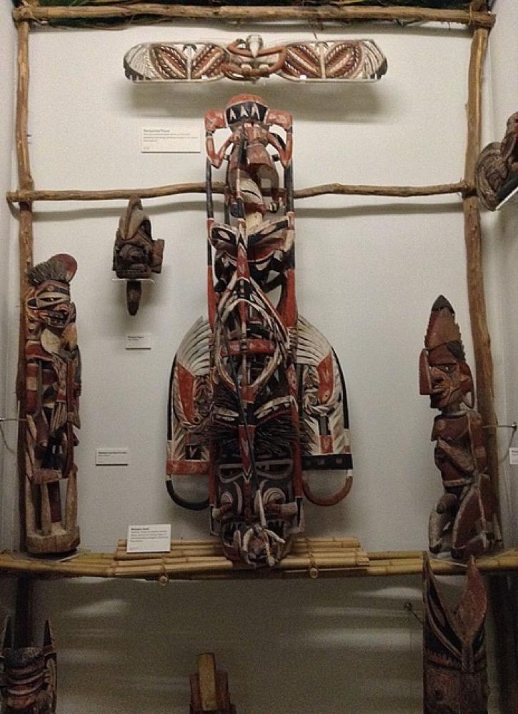 Pacific islands exhibition