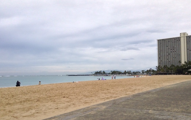Beach, Honolulu