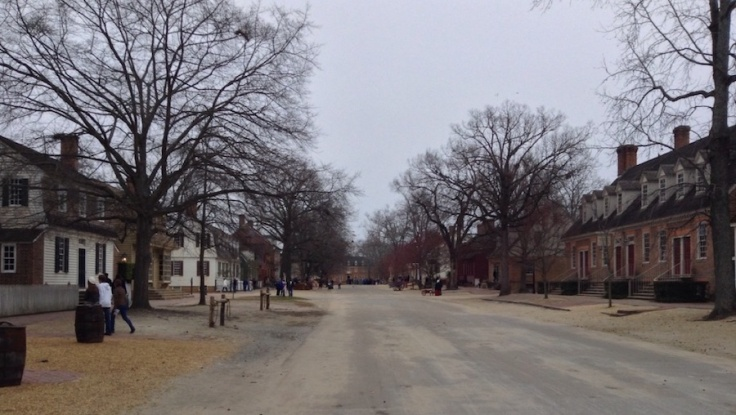 High street, Capitol at the end