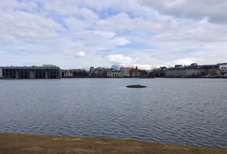 City lake, Reykjavik