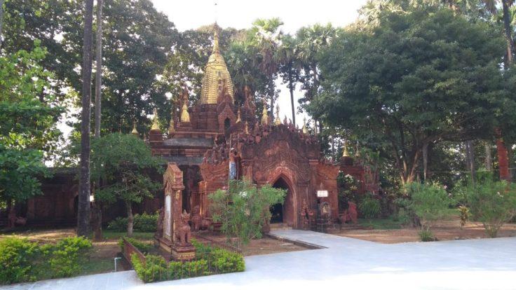 Temple inside Mahazedi Paya