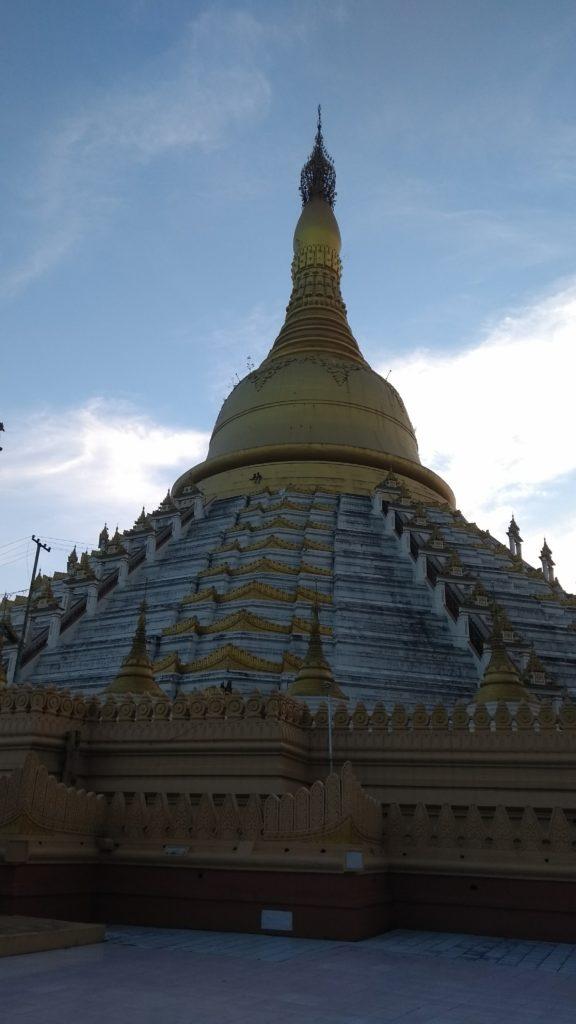 Main Paya - gates open now, to climb it
