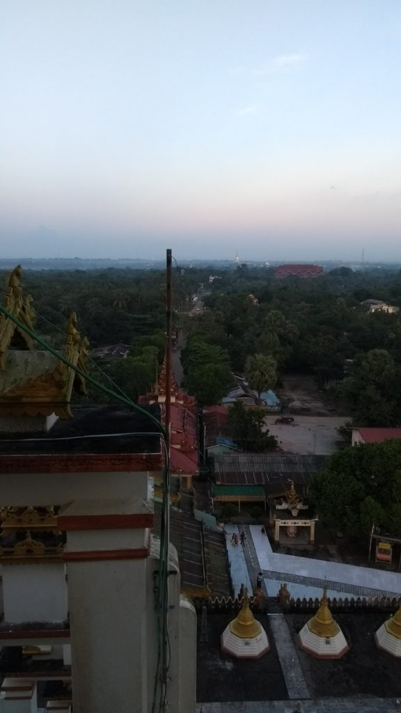 View from top of Paya