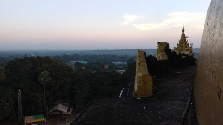 Sight from top of Paya