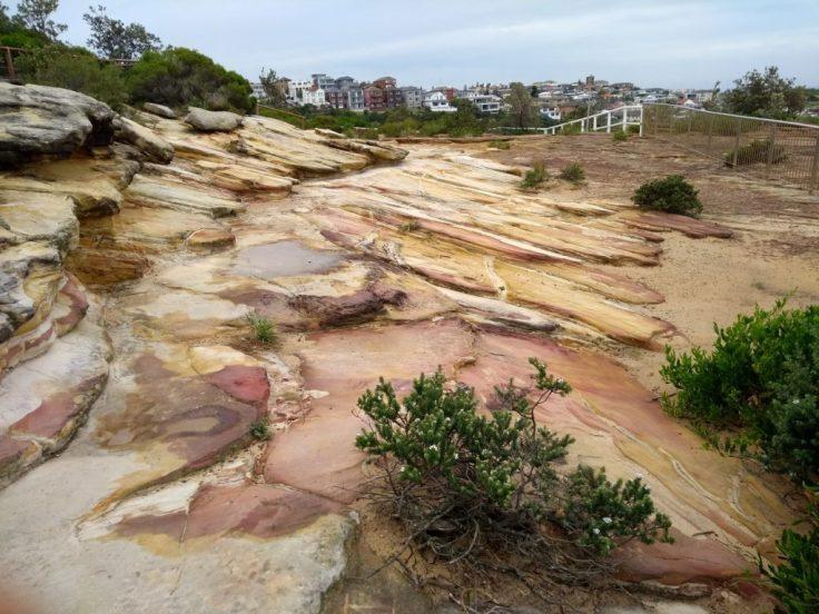 Coloured rocks.