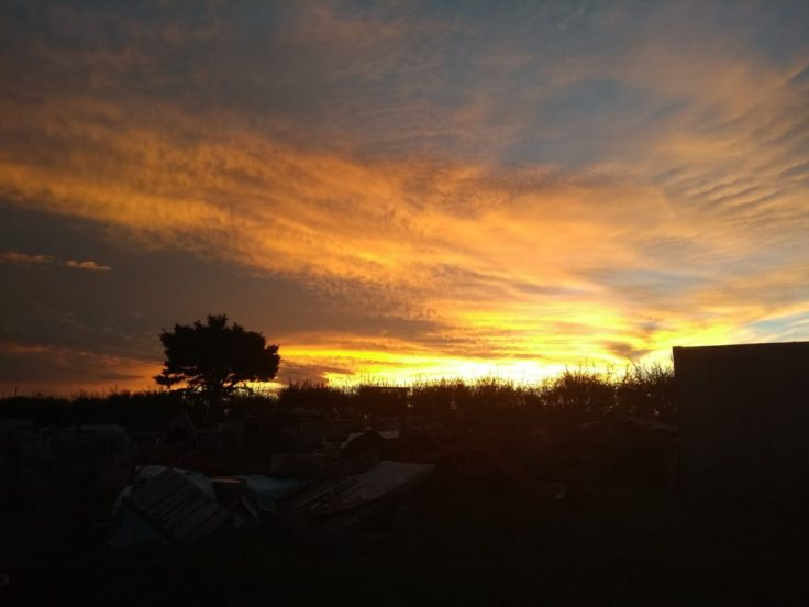 Sunset in Pukekawa.