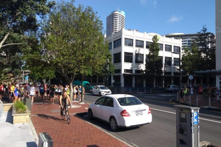 5k start at O'Hagan's, Auckland.