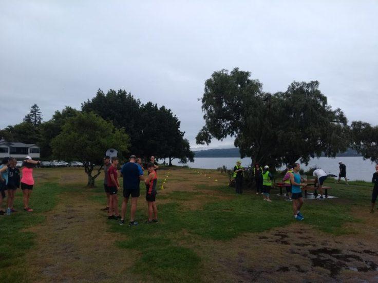 Taupo parkrun start/finish