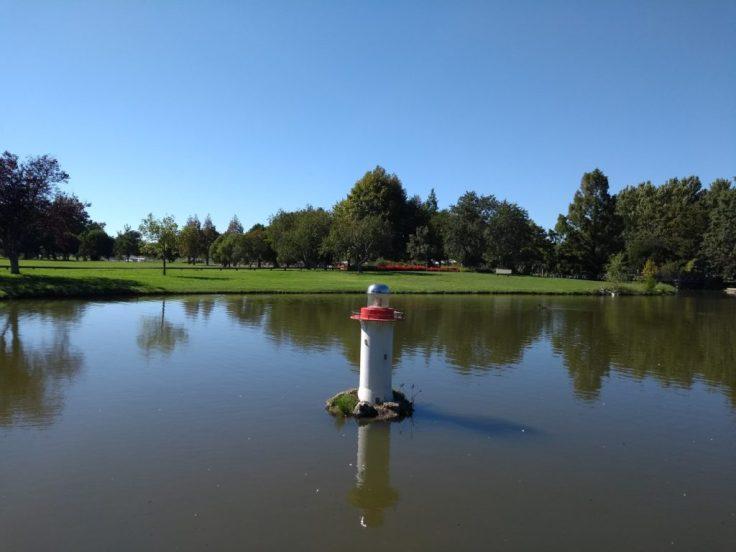 Model lighthouse, Anderson park.