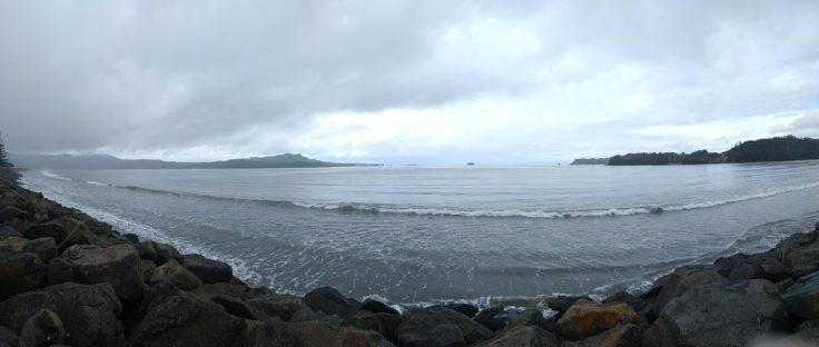Panorama, Whitianga front.