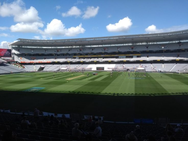 Eden park in sunshine