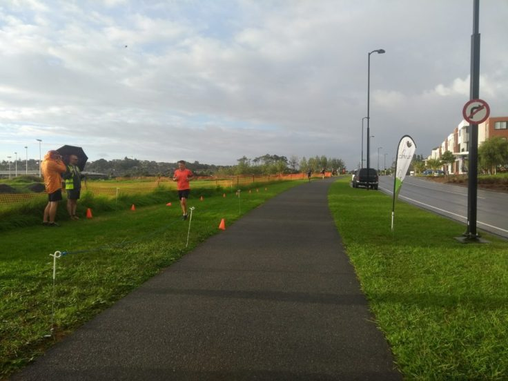 Millwater parkrun, start and finish