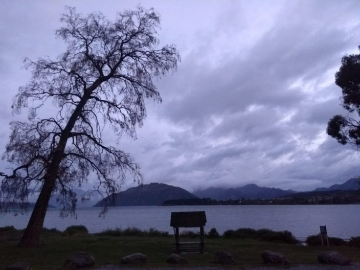 Lake Wanaka, early in the morning