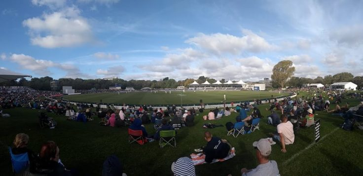 Sunny weather, Hagley Oval
