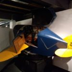 Link Flight trainer, used bellows to move it around.