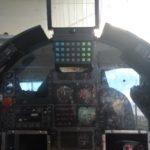 Alenia Aermacchi trainer cockpit.