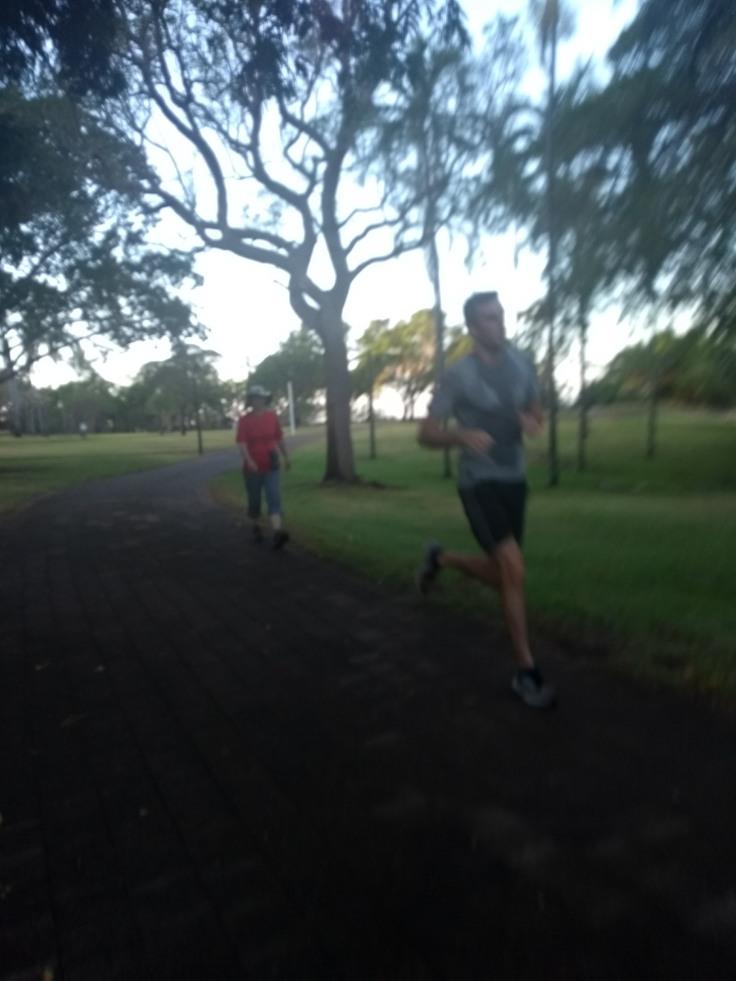 Runners, Darwin parkrun