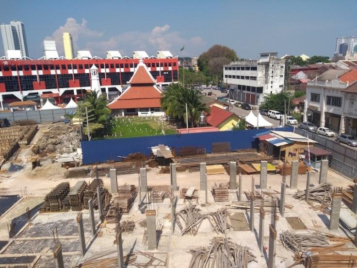 Construction in Melaka