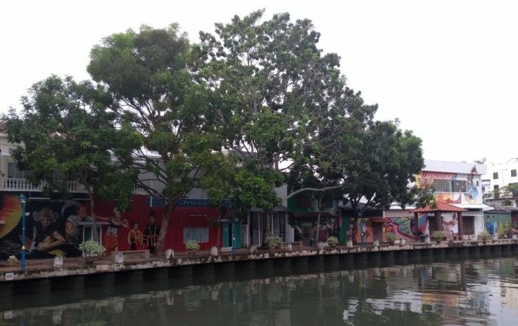 Riverside living, Melaka