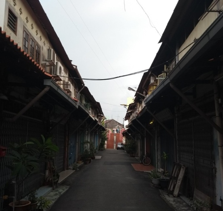 Narrow street, Melaka
