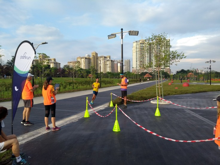 Taman Pudu Ulu parkrun finish