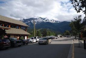 Pemberton town, more mountains.