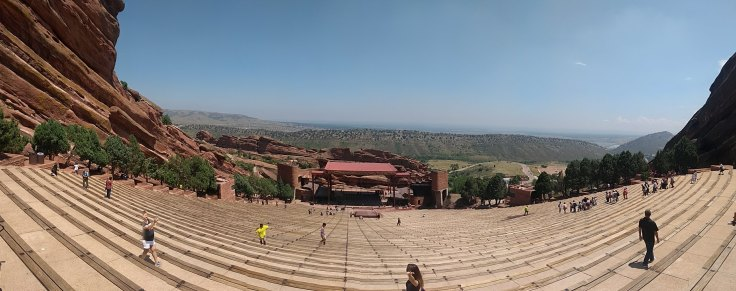 Panorama of the amphitheatre