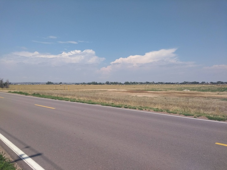 Wide open spaces in Brighton, CO