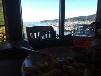 Food, drink and a view in Moby's pub