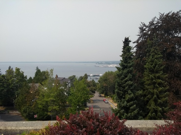 View from WWU, Bellingham