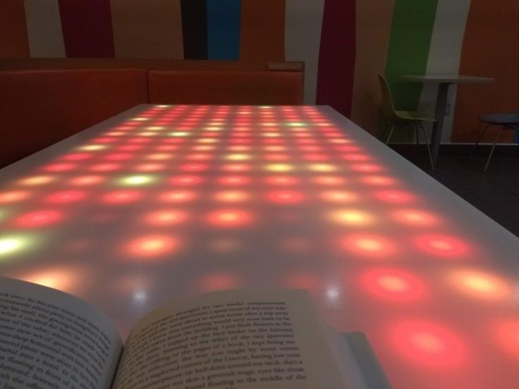 McDonald's light table - touch sensitive