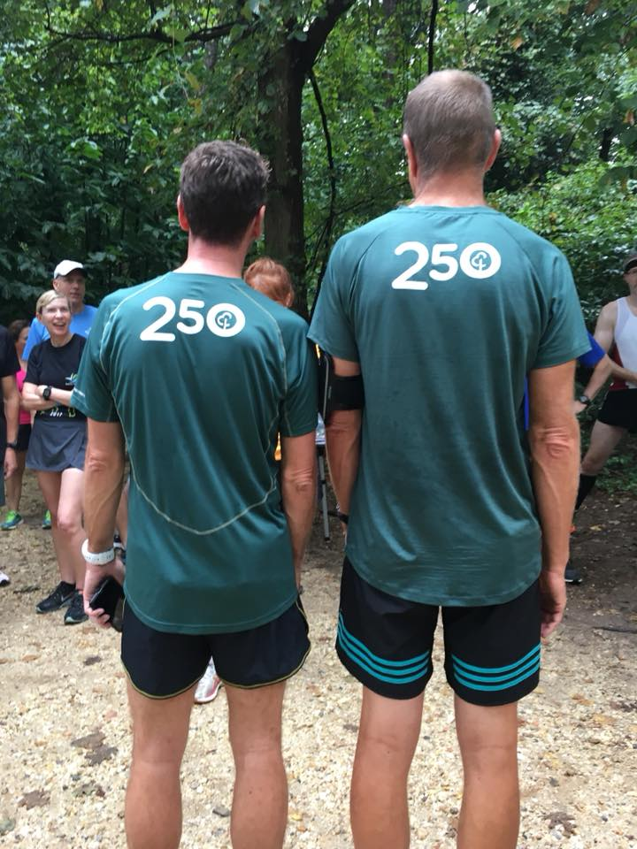 250-parkrun t-shirts