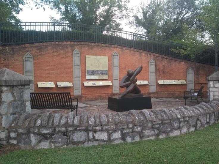 Roanoke, sculpture